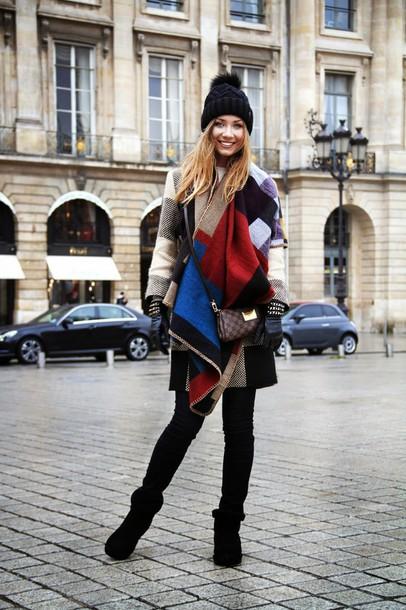 dream love shop blogger coat gloves blanket scarf