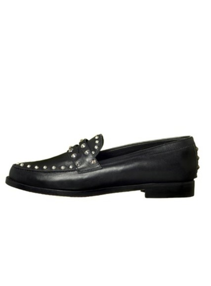 studded shoes loafers