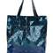 Bao bao issey miyake - geometric stud shopper tote - women - nylon/polyester/pvc - one size, blue, nylon/polyester/pvc