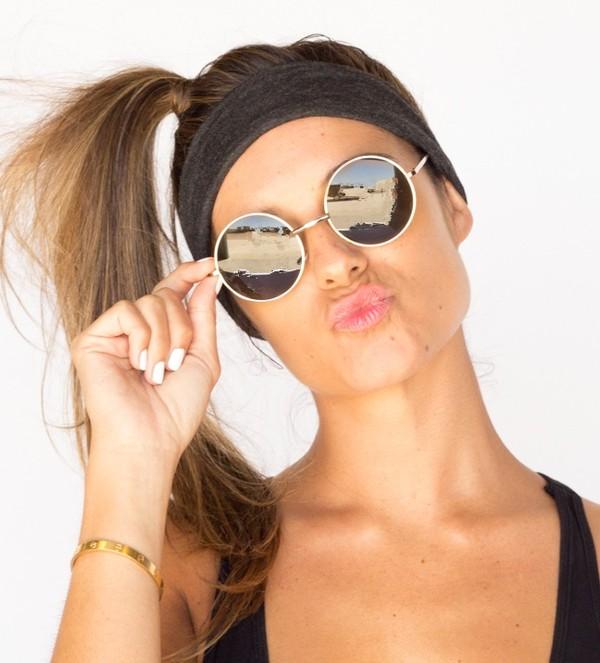 sunglasses boho bohemian round shades