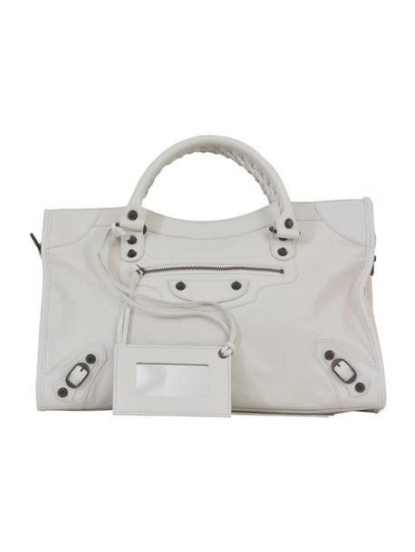 classic handbag white bag