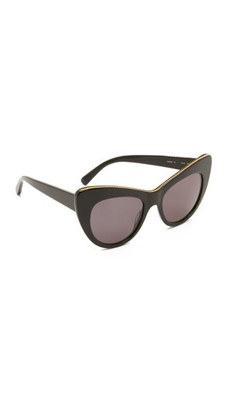 sunglasses black grey