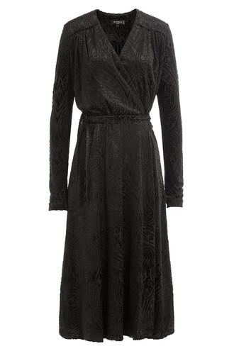 dress wool black