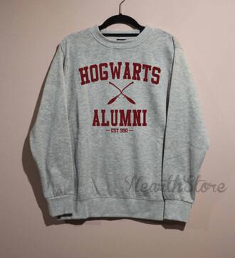 sweater harry potter hogwarts hogwarts sweatshirt