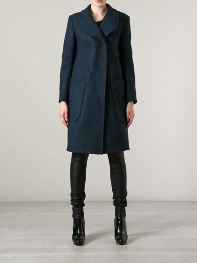 Carven Manteau Drap Coat - Liska - Farfetch.com