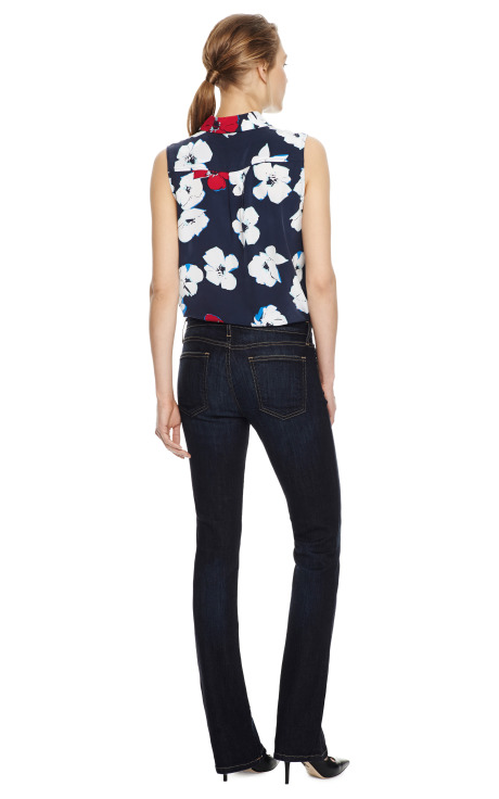 The Stiletto Distressed Jeans by Current/Elliott - Moda Operandi