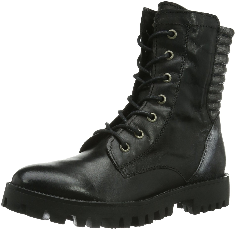 7677 damen combat boots: amazon.de: schuhe & handtaschen