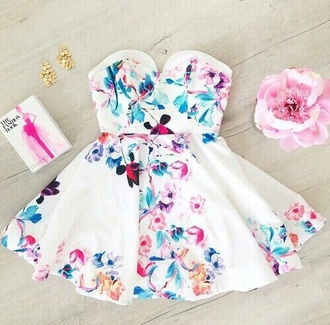 dress spring cute style sweet lovely pepa love it hot sexy dress short dress floral dress fashion flowers prom dress summer dress summer outfits spring dress