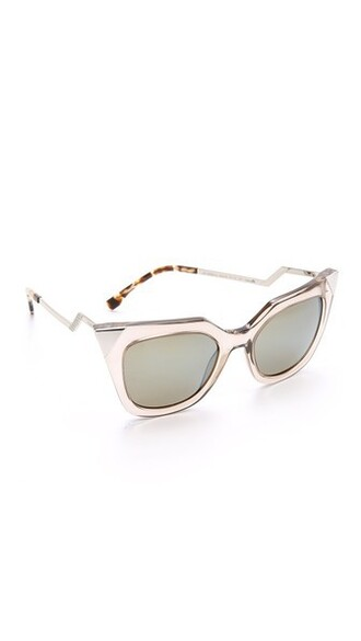 sunglasses blue khaki grey