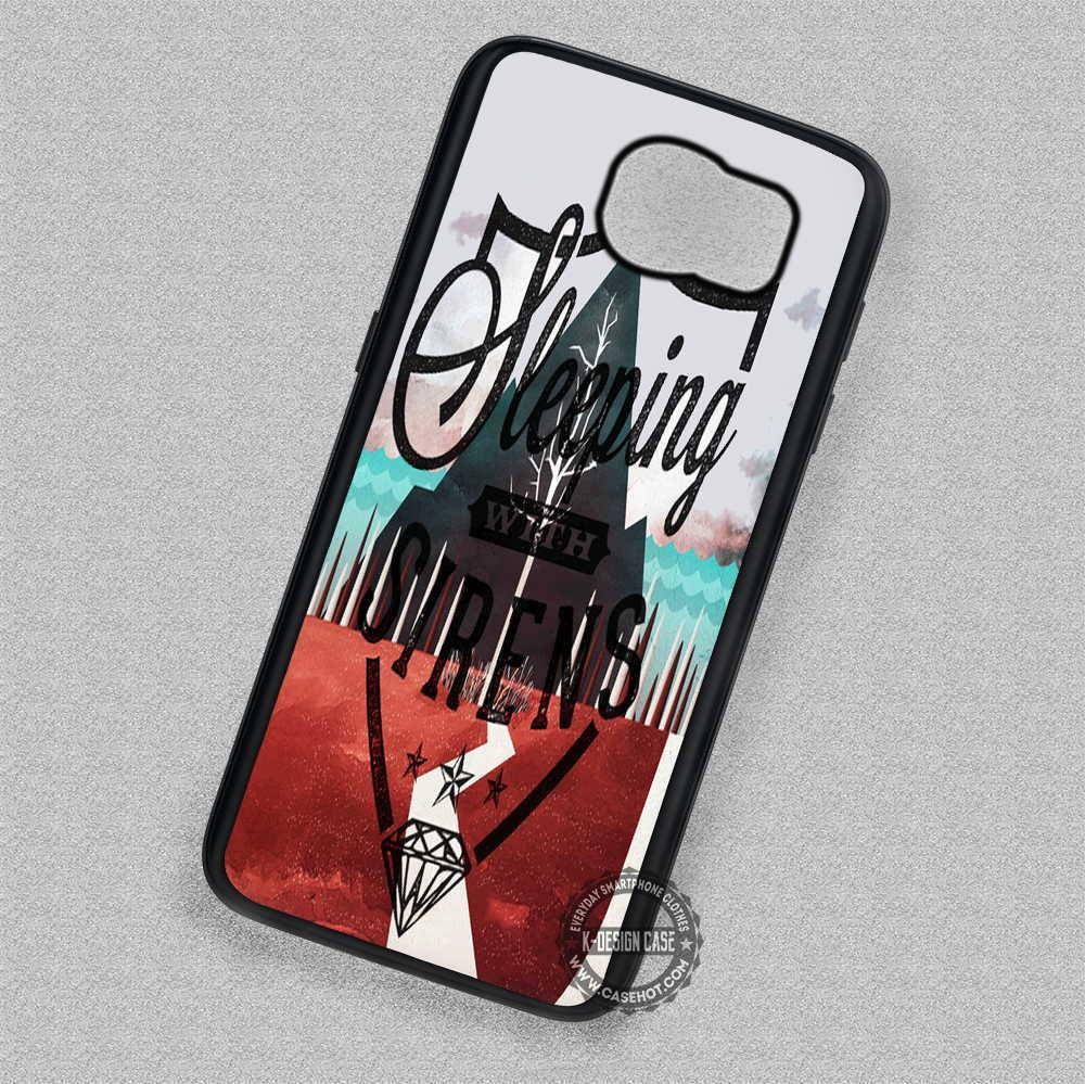 Sleeping With Sirens - Samsung Galaxy S7 S6 S5 Note 7 Cases & Covers
