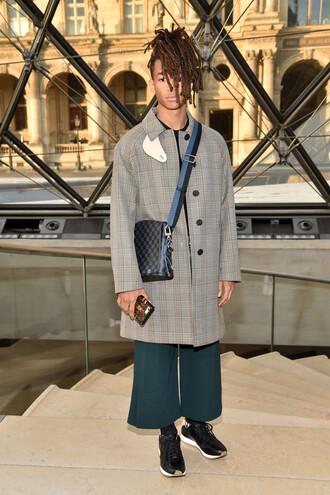 coat jacket menswear mens jacket mens sneakers jaden smith fashion week 2017 paris fashion week 2017