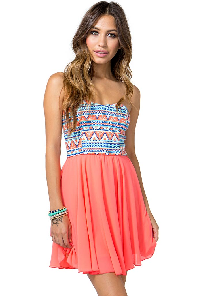 Indie Summer Flare Dress