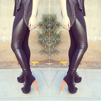 leggings leather leather leggings black black leggings black leather leggings black leather