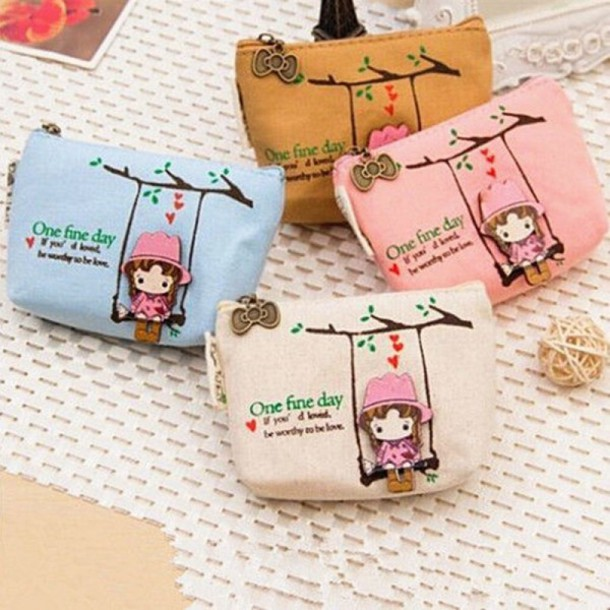 2a94b926c549 bag cute girly wallet fashion trendy style casual pastel vintage tumblr gift  ideas