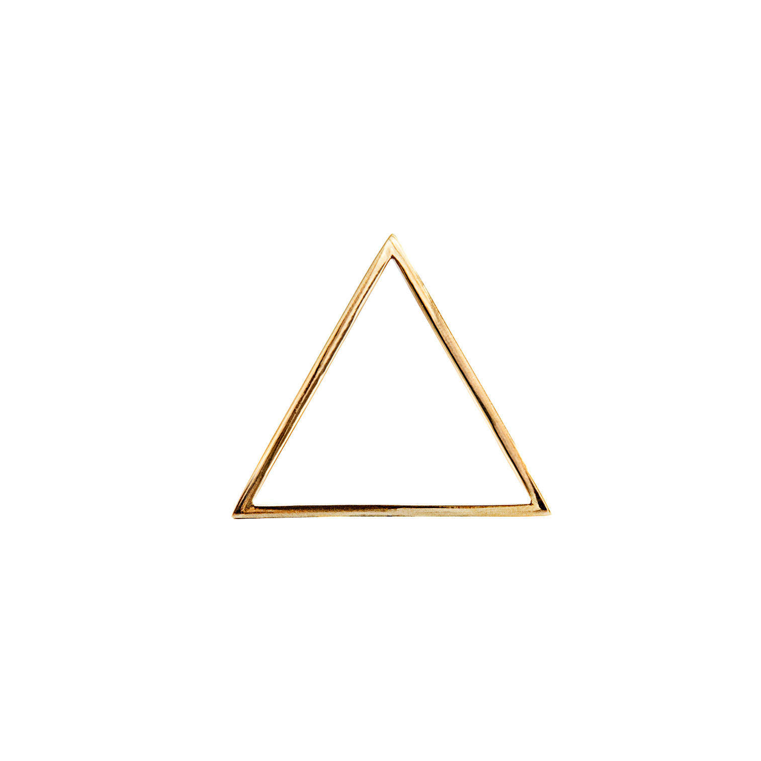 The golden triangle clip