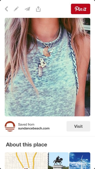 blouse tie dye shirt blue shirt jewels jewelry necklace quartz crystal quartz layered layered necklace