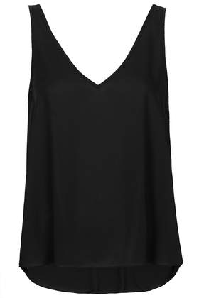 V Front Back Vest - Tops - Clothing - Topshop