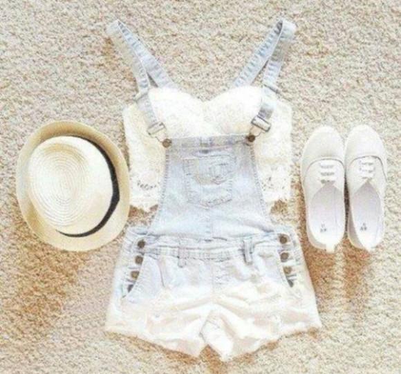 overalls skirt