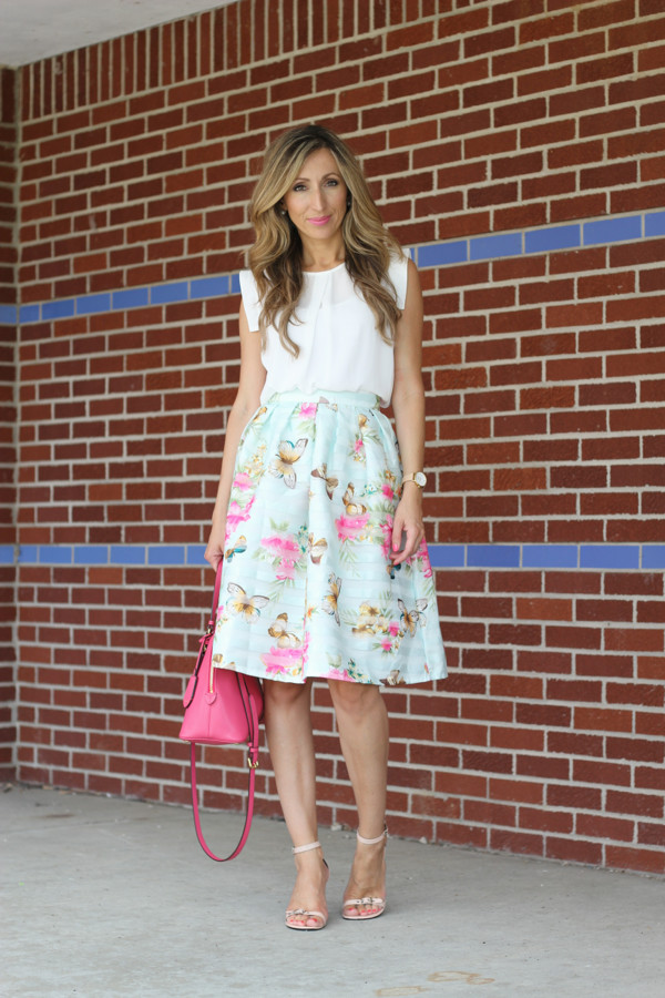 lilly's style top skirt