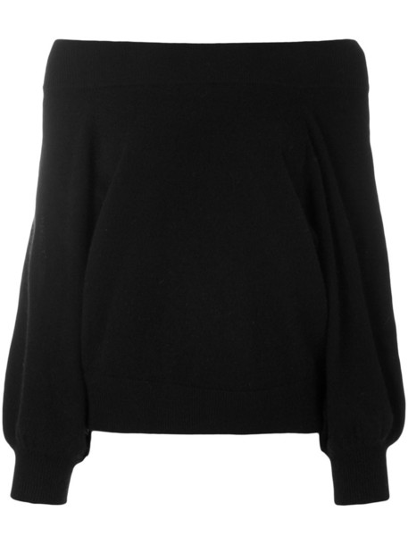 rta sweater bell sleeve sweater women black