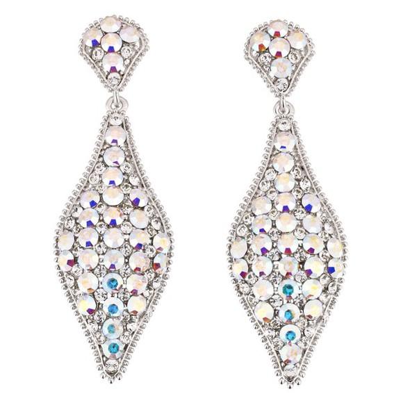 jewels earrings glitter strass