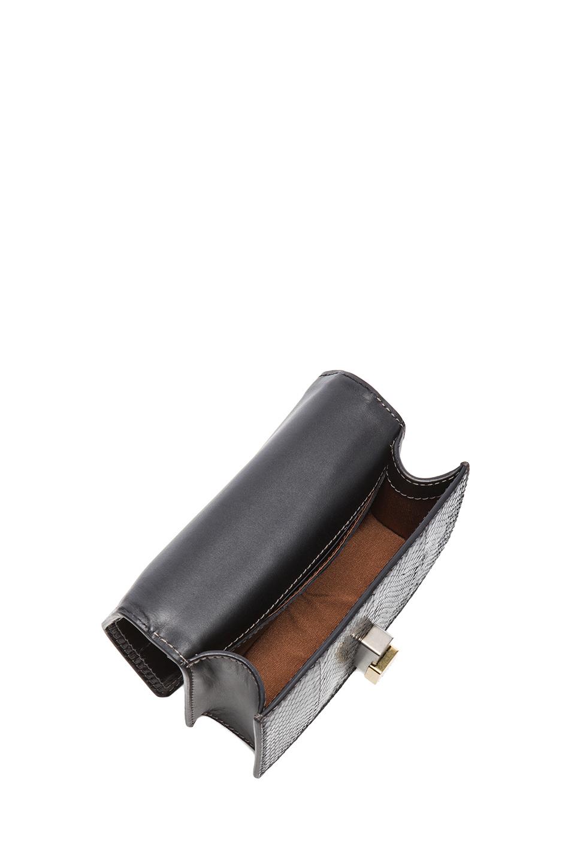 Lanvin | Mini Rigid Bag in Black