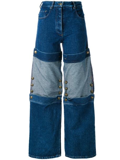 Y / Project jeans women cotton blue