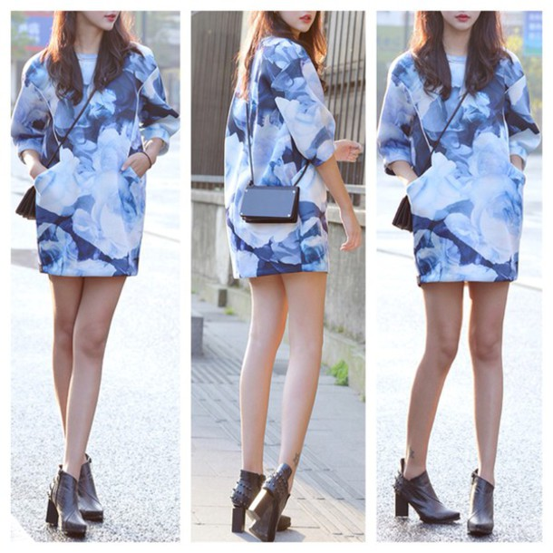 How to Style a Shirt Dress For Fall T-shirt Dress Fall Outfits
