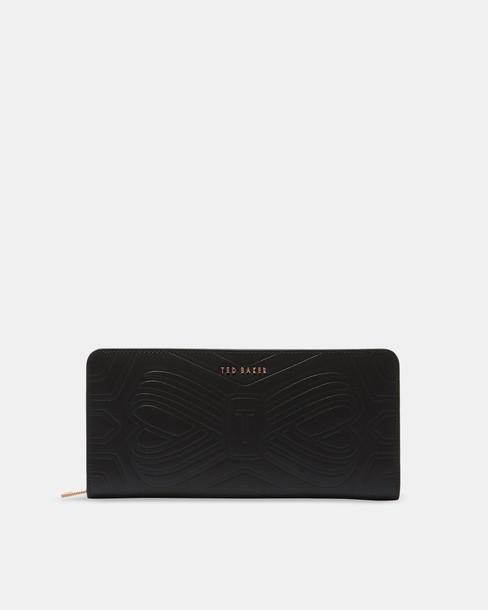 bow purse leather bag