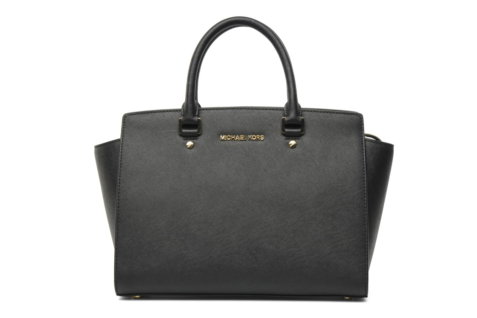 SELMA LG TZ Satchel by Michael Michael Kors (Black) | Sarenza UK | Your Handbags SELMA LG TZ Satchel Michael Michael Kors delivered for Free
