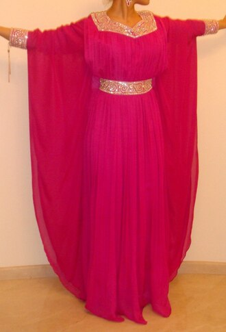 maxi dress kaftan arabic style dress evening dress