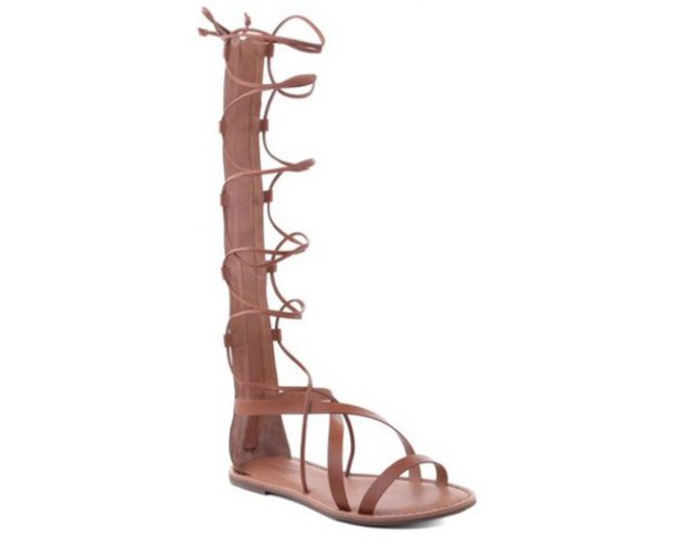 bf08c3f7399c20 shoes tan brown gladiators sandals lace up tie strappy strappy sandals  summer spring criss cross