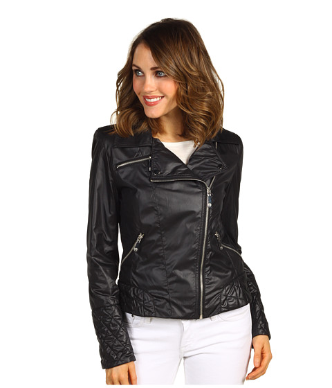 Vince Camuto Short Motorcycle Jacket Black - Zappos.com Free Shipping BOTH Ways