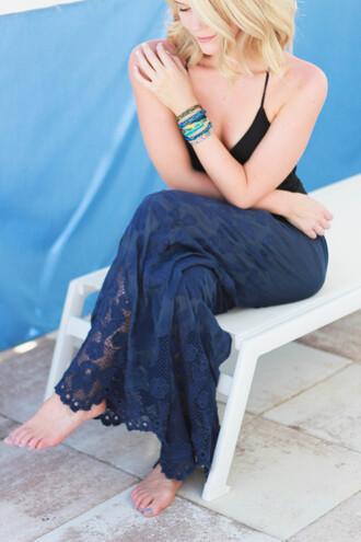 miss lyle style blogger pants swimwear jewels
