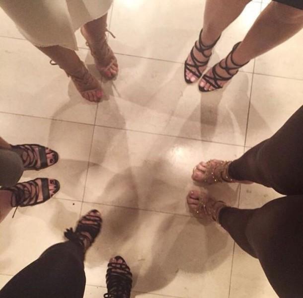 shoes sandals high heel sandals strappy heels