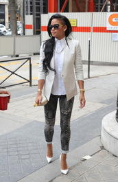 pants,clothes,jeans,grey jeans,cassie ventura,printed leggings,celebrity style,snake print,dark,grey print