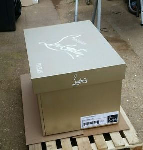 christian louboutin shoe box storage box