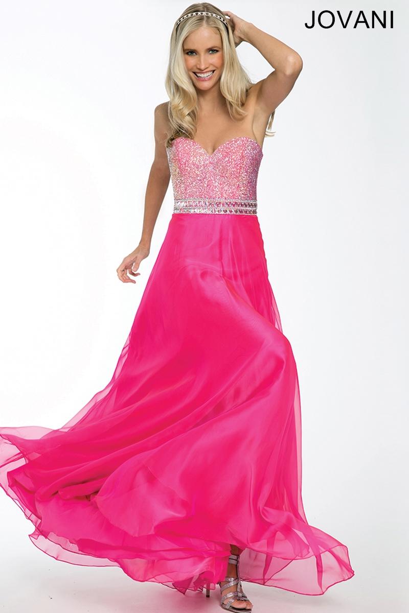Jovani pageant prom dress 73073