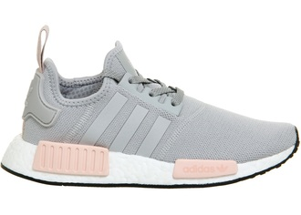 shoes adidas nike pretty pink grey pastel pink
