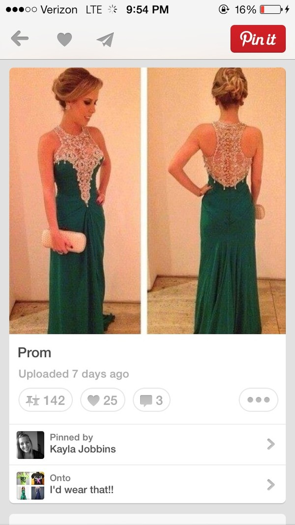 dress prom dress prom emerald green