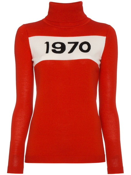 Bella Freud sweater long women wool red