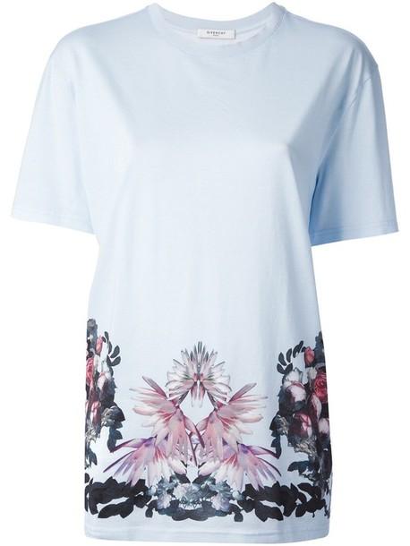 t-shirt floral print t-shirt givenchy floral floral