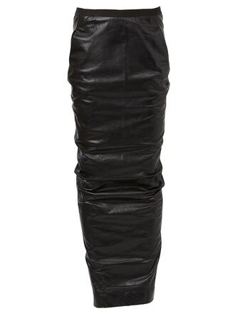 skirt maxi skirt maxi back open open back black