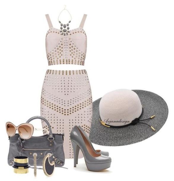 hat dress bag shoes