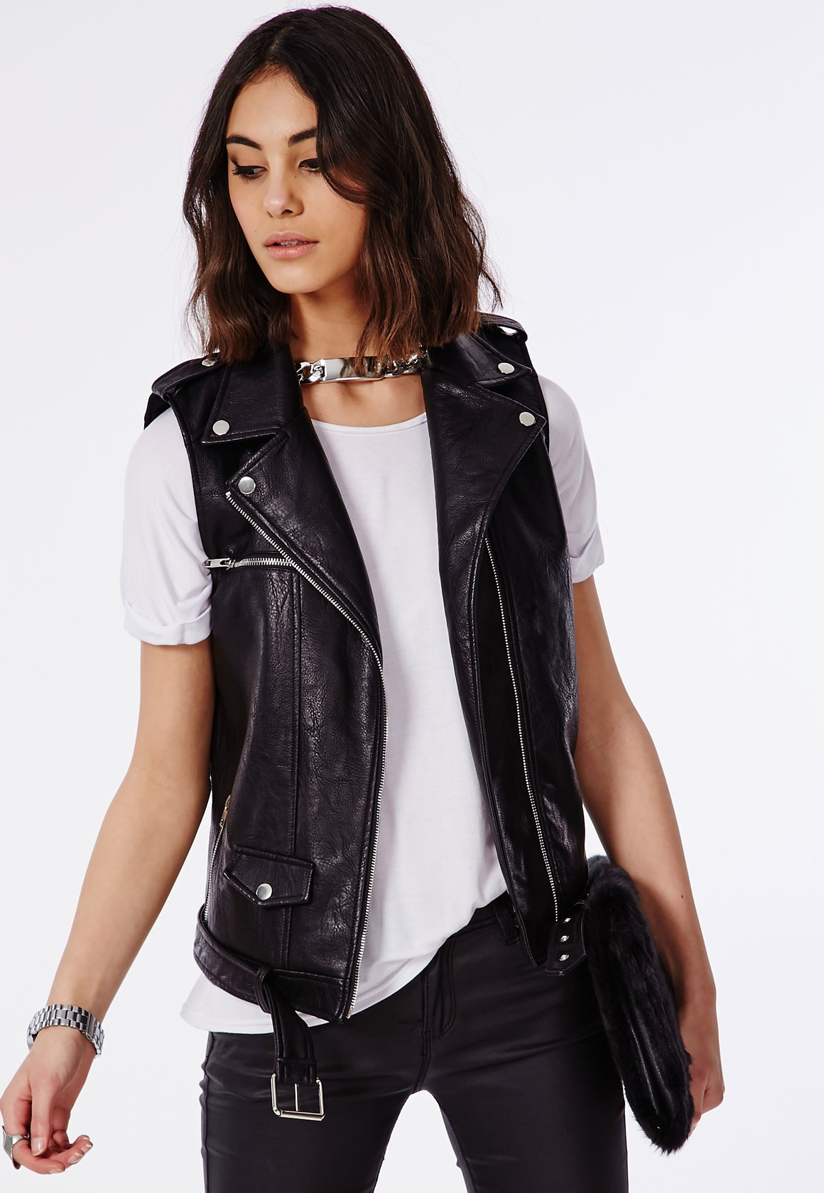 Sleeveless leather motorcycle jacket vest. This one of a kind buffalo leather vest is loaded with lots of premium features. Jamin' Leather Exclusive.5/5(10).