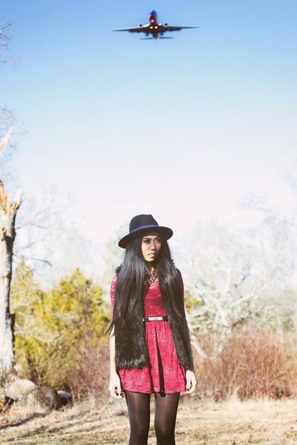 fashion of a novice dress jacket hat shoes