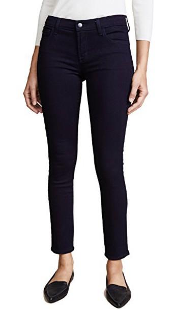 J BRAND jeans skinny jeans dark