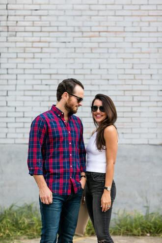 dallas wardrobe // fashion & lifestyle blog // dallas - fashion & lifestyle blog blogger top jeans bag sunglasses shirt shoes