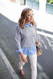 the classy cubicle,blogger,top,jeans,shoes,bag,jewels,jacket,sunglasses,dress,streetwear,glasses