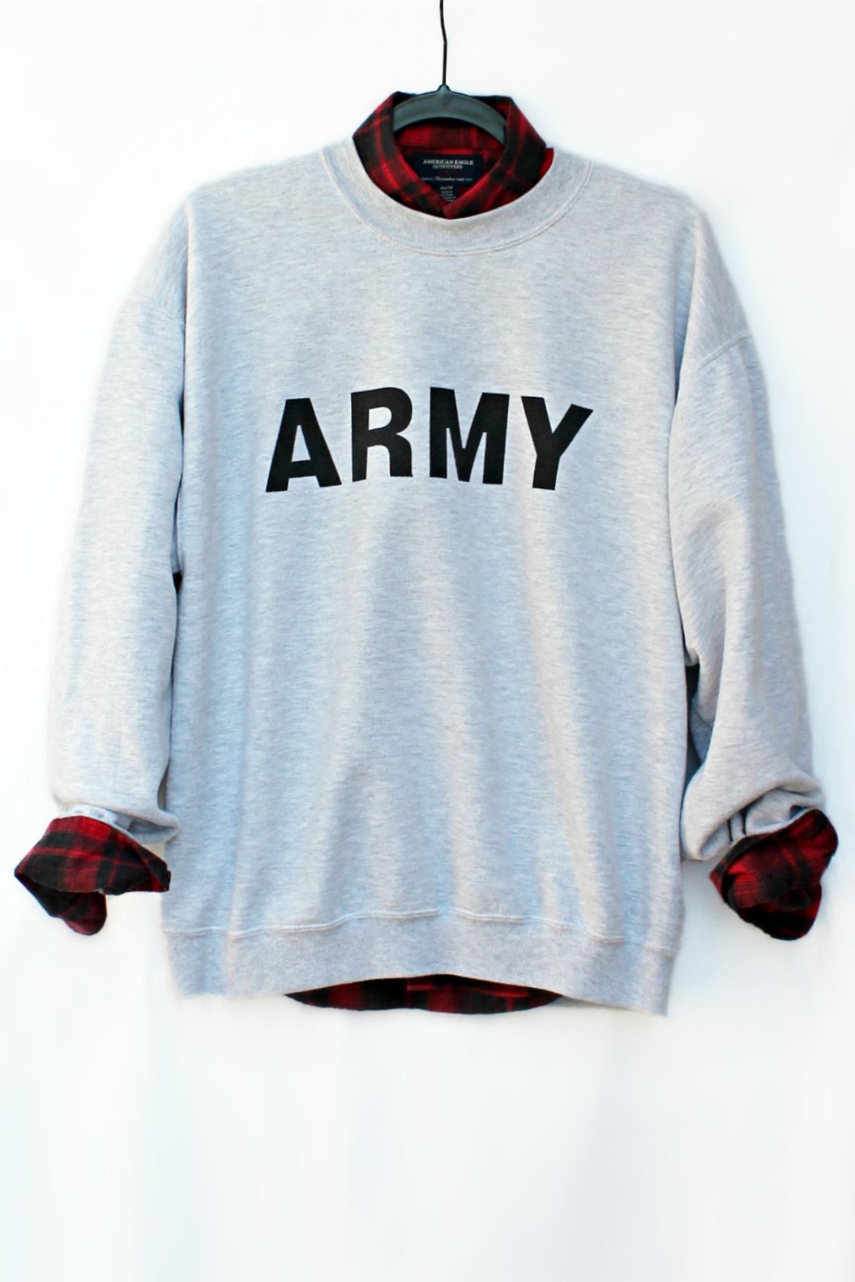 Army Sweater | Just Vu